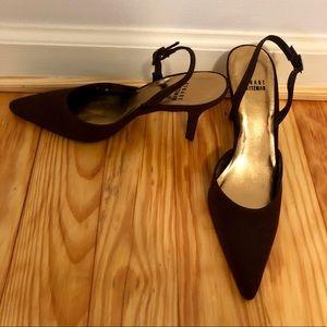 NWOT Stuart Weitzman Classic Slingback Heels